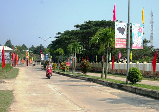 Diện mạo nông thôn mới xã Duy Trinh (Duy Xuyên) ngày càng khởi sắc