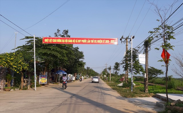 Nhiều làng quê của xứ Quảng thực sự khởi sắc từ Chương trình xây dựng nông thôn mới. Ảnh: VĂN SỰ