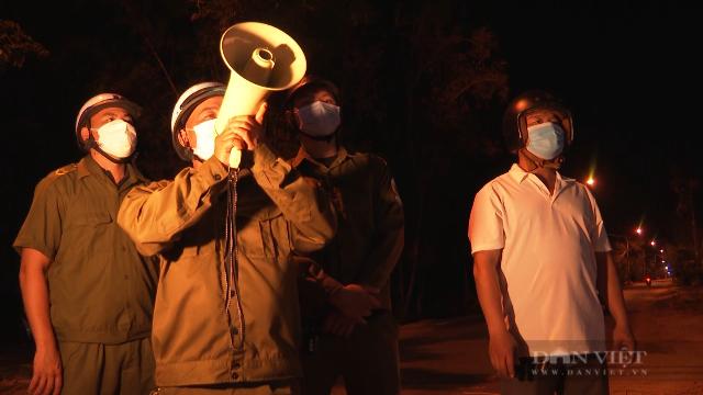 Hội Nông dân ở Tam Kỳ tham gia tuyên truyền về công tác phòng chống tội phạm và các biện pháp phòng chống dịch bệnh Covid - 19